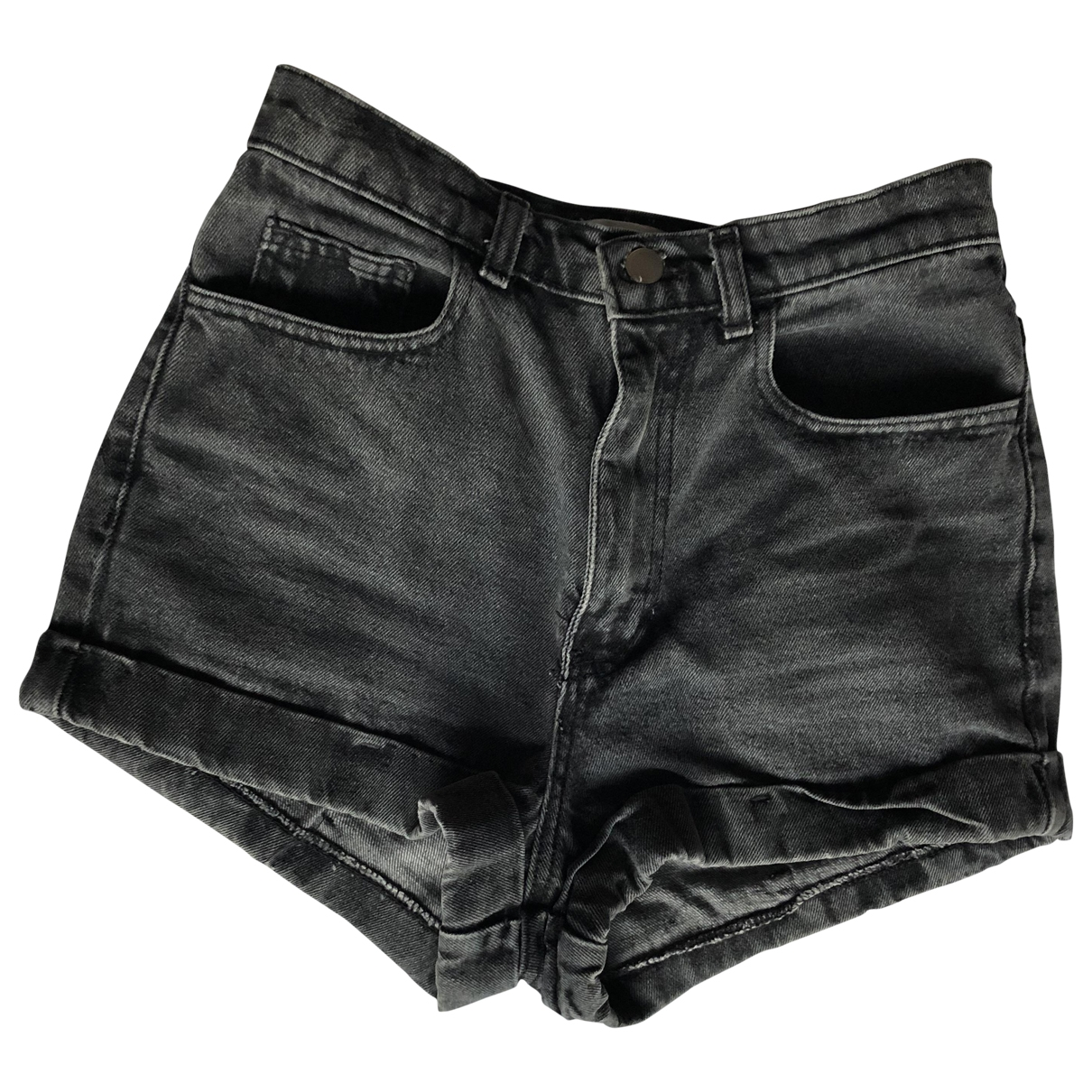 American Apparel \N Grey Cotton Shorts for Women 36 FR
