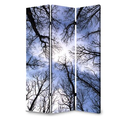BM26561 3 Panel Foldable Canvas Screen with Tree Print