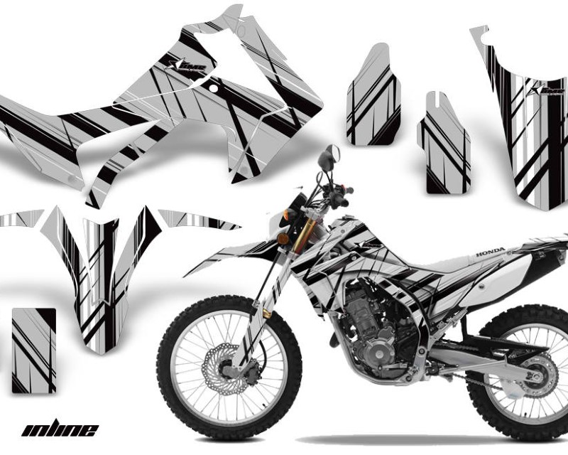 AMR Racing Dirt Bike Graphics Kit Decal Sticker Wrap For Honda CRF250L 2013-2016áINFINITY SILVER