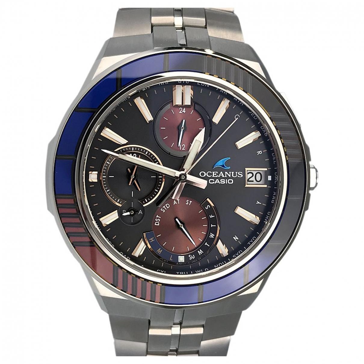 Casio \N Uhr in  Schwarz Titan