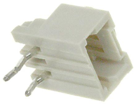 TE Connectivity , AMP Mini CT, 3 Way, 1 Row, Right Angle PCB Header (5)