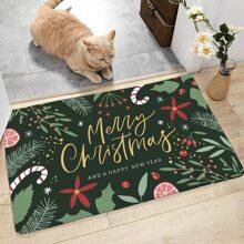 Pflanzen & Weihnachtsbrief Graphic Floor Mat