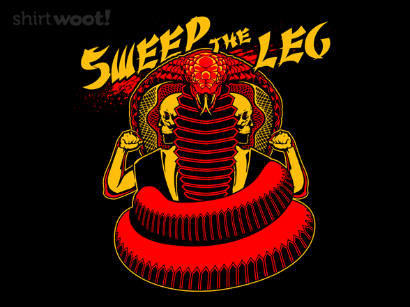 Sweep The Leg T Shirt