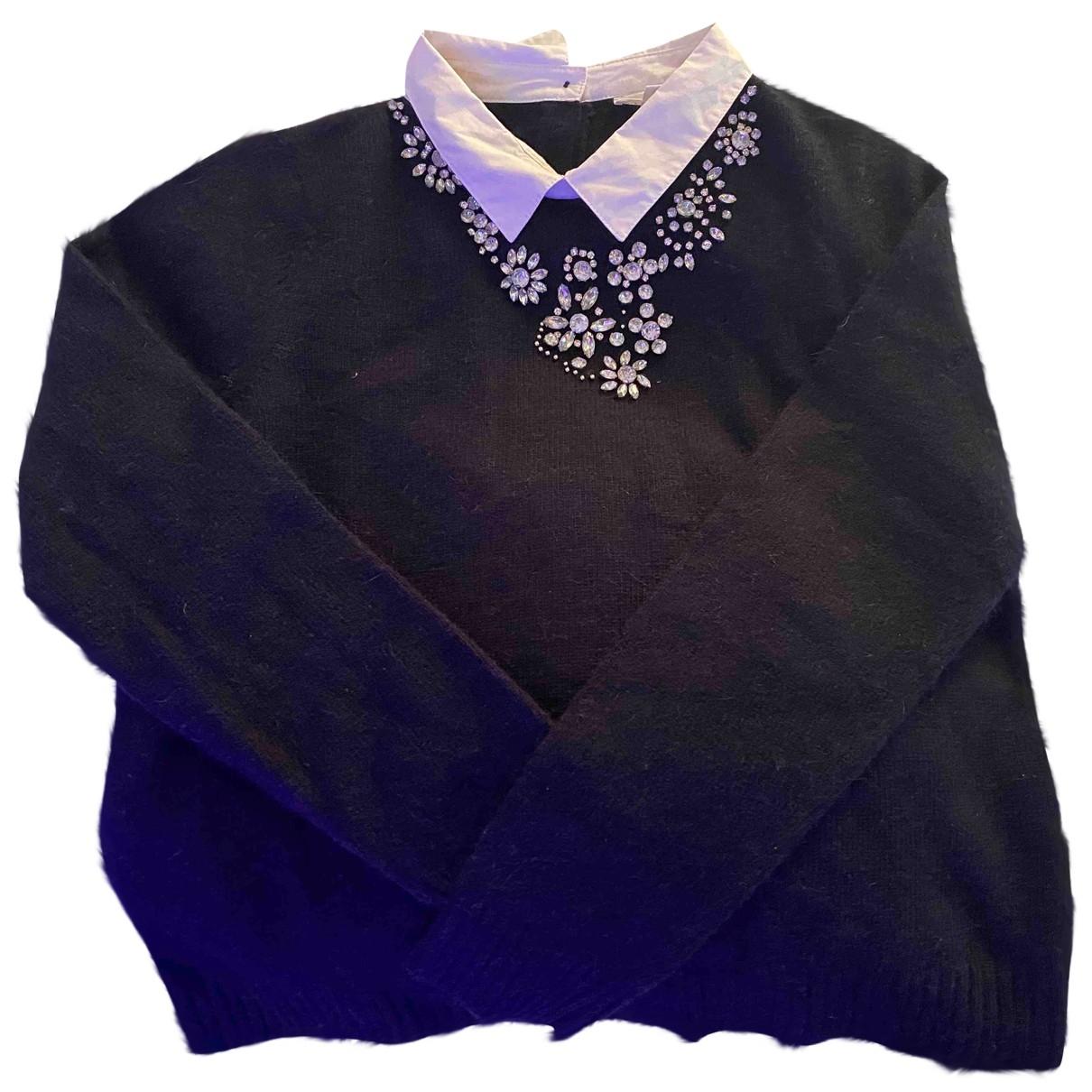 Pablo \N Pullover in  Schwarz Baumwolle