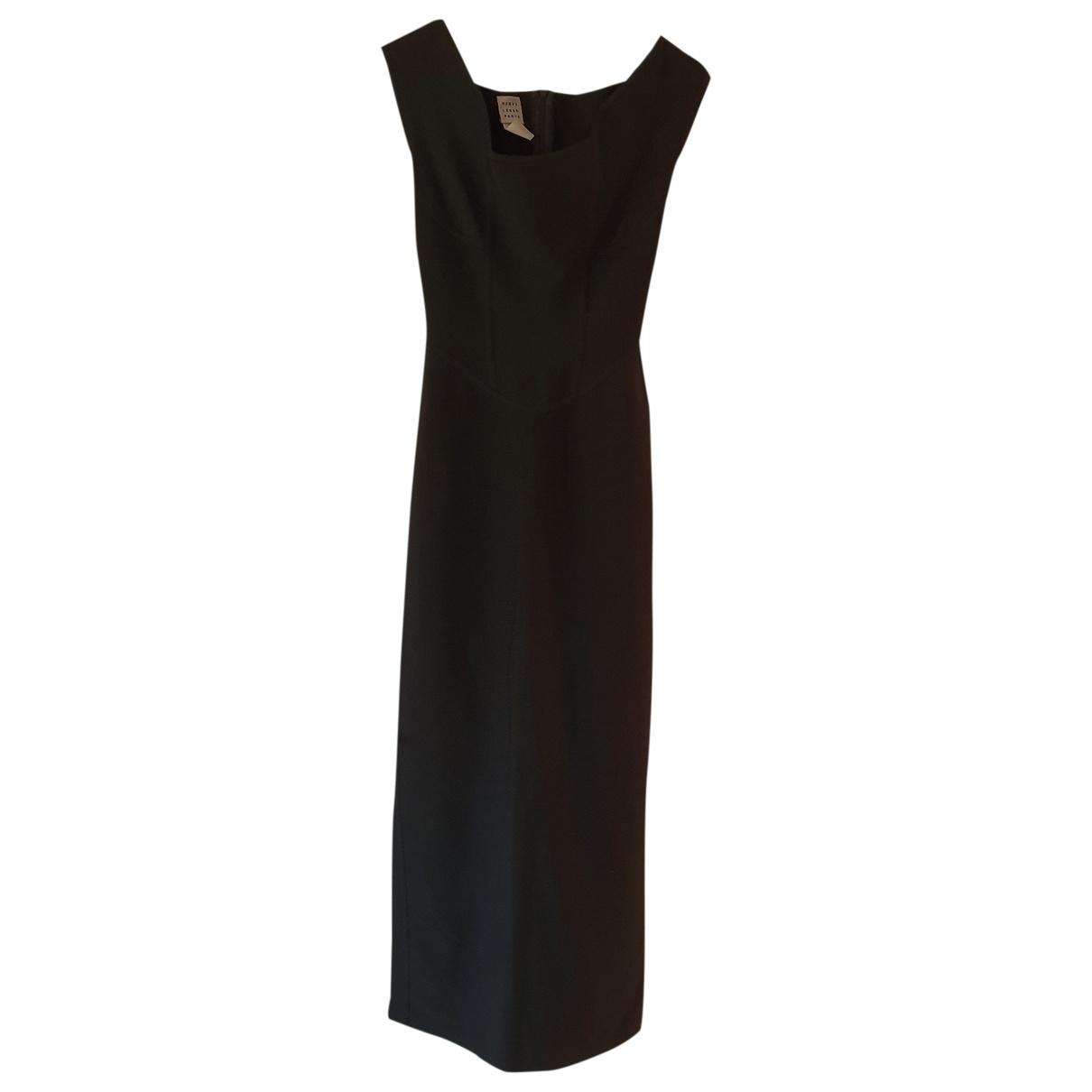 Herve Leger \N Kleid in  Schwarz Polyester