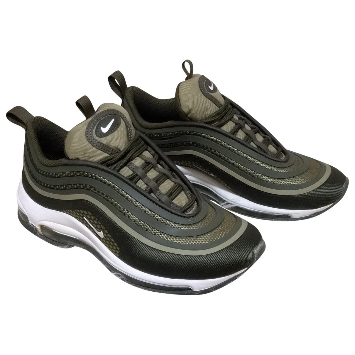 Nike Air Max 97 Sneakers in  Gruen Leinen