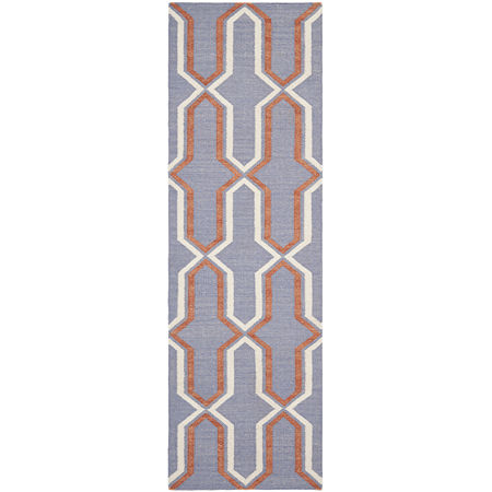 Safavieh Wight Hand Woven Flat Weave Area Rug, One Size , Purple