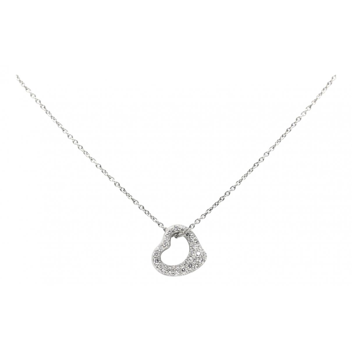 Collar Elsa Peretti  de Platino Tiffany & Co