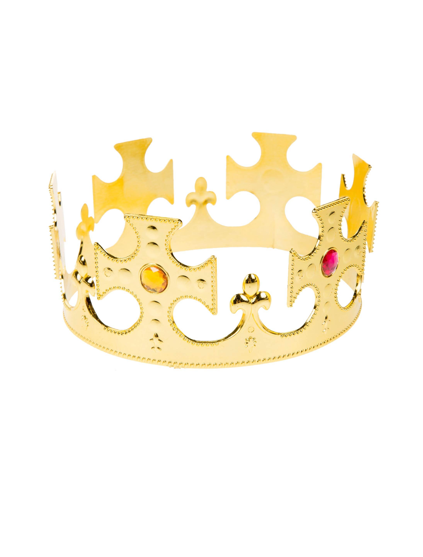 Kostuemzubehor Konigskrone Farbe: gold