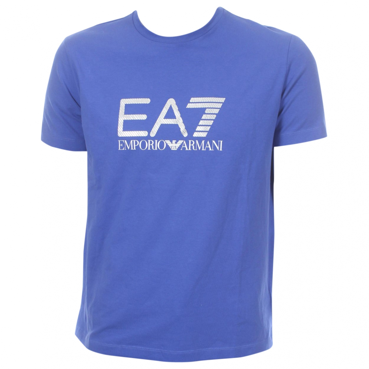 Emporio Armani \N Blue Cotton T-shirts for Men XXL International