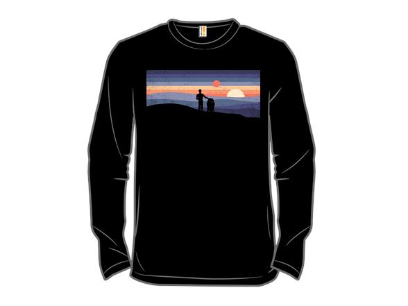 Droids At Sunset T Shirt
