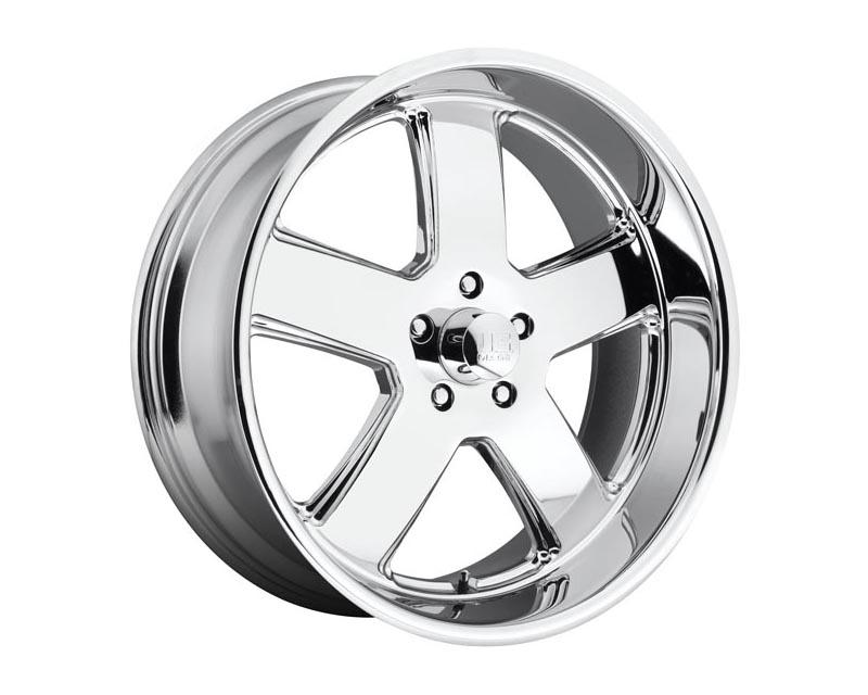 US Mag U116 Hustler Wheel 22x11 5X5 18mm Chrome Plated
