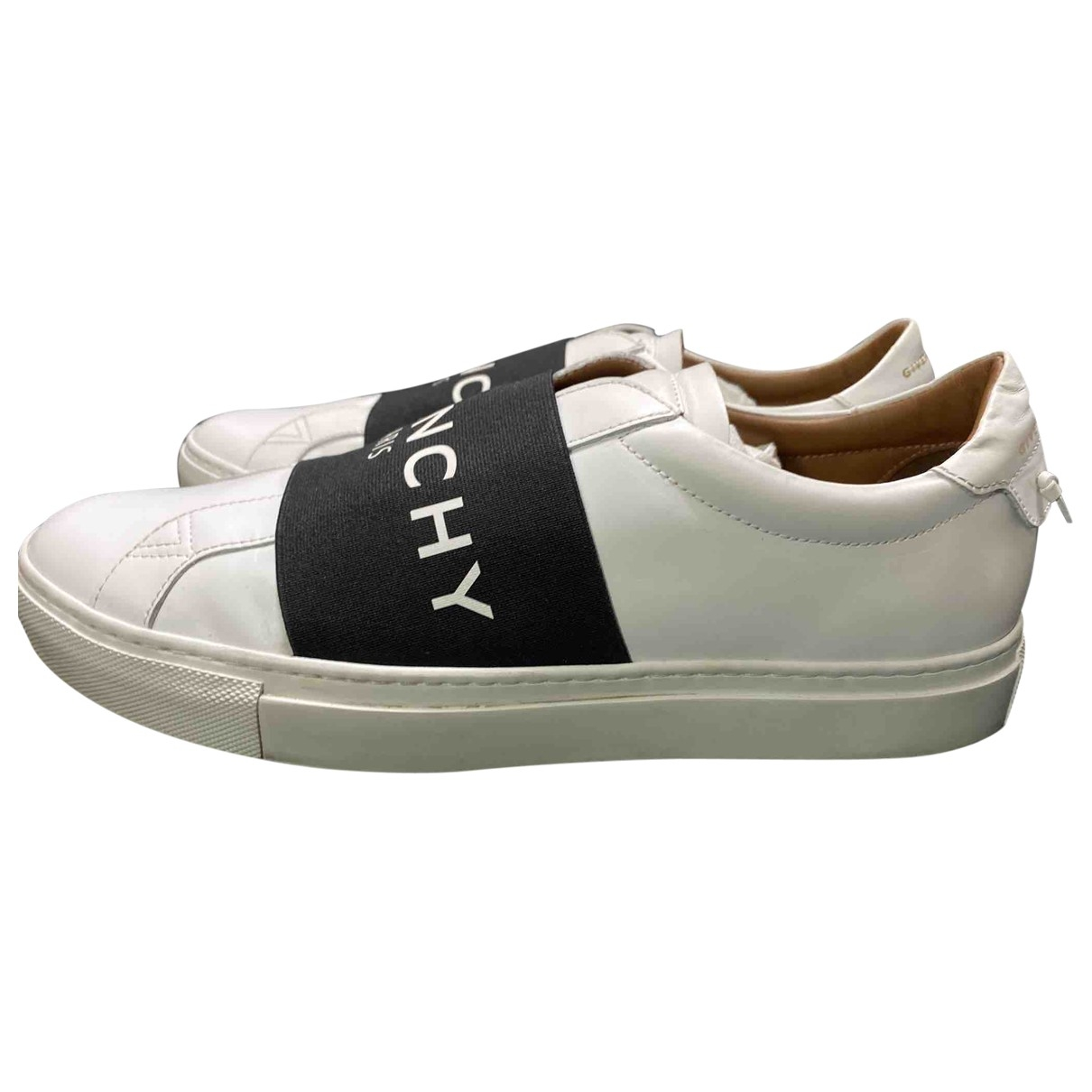 Givenchy \N White Leather Trainers for Men 42 EU