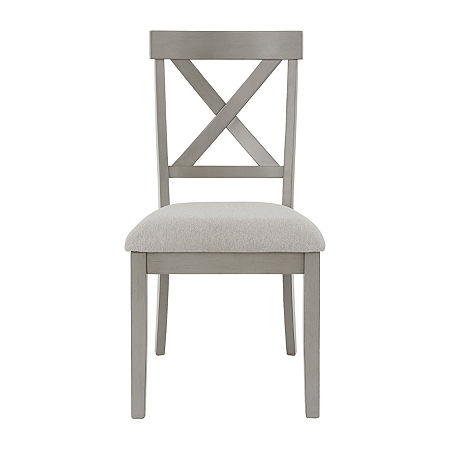 Signature Design by Ashley Paralee Dining Collection 2-pc. Side Chair, One Size , Gray