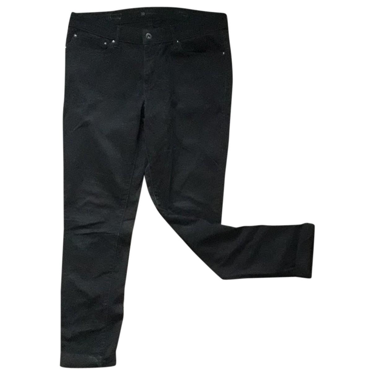 Levi's \N Black Cotton - elasthane Jeans for Women 42 FR