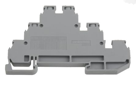 Entrelec , SNA, 380 V ac Multi Level Terminal Block, Screw Termination, Grey (5)