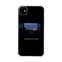Landscape & Letter Graphic iPhone Case