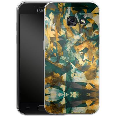 Samsung Galaxy A3 (2017) Silikon Handyhuelle - Raw Texture von Danny Ivan