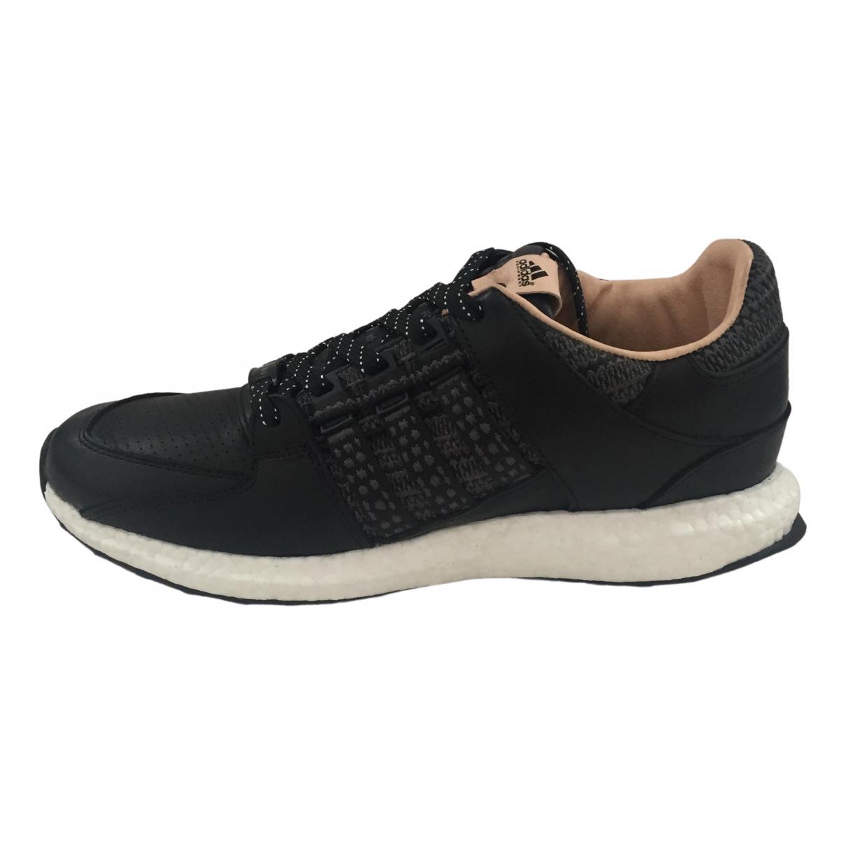 Adidas EQT Support Sneakers in  Schwarz Leder