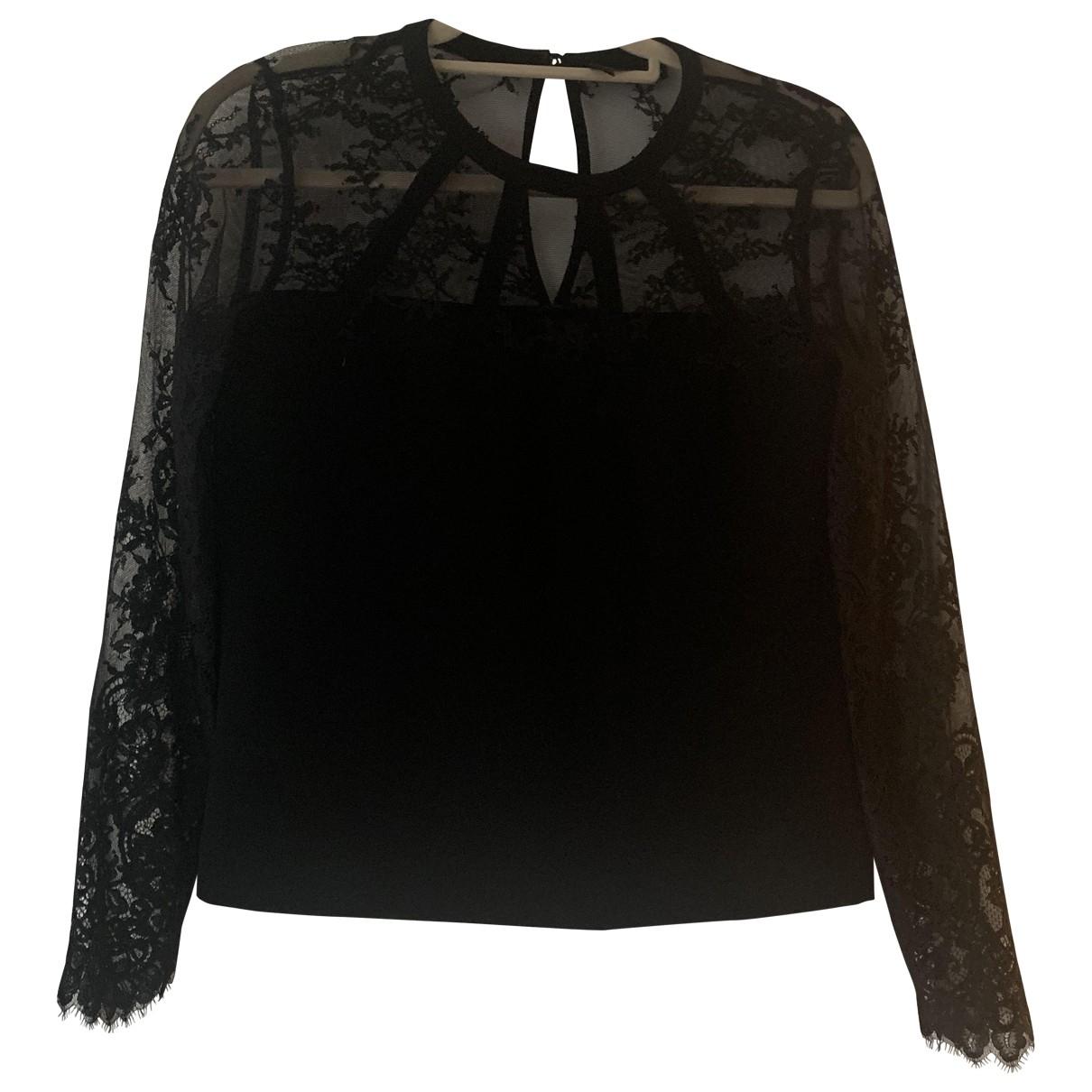 The Kooples - Top   pour femme en dentelle - noir