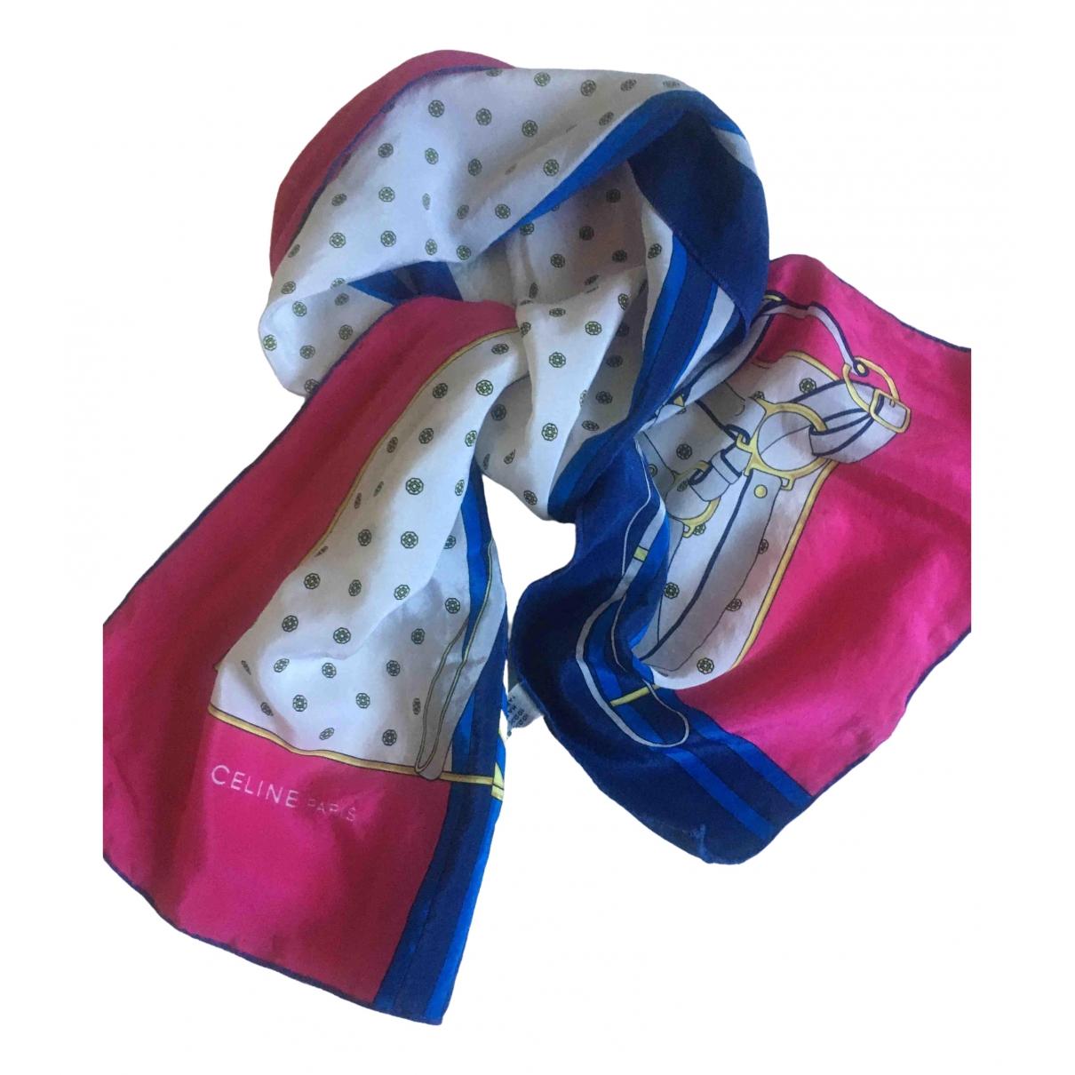 Celine \N Multicolour Silk scarf for Women \N