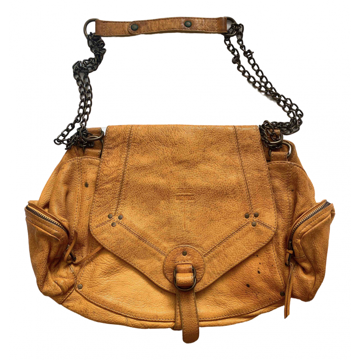 Jerome Dreyfuss \N Handtasche in  Gelb Leder