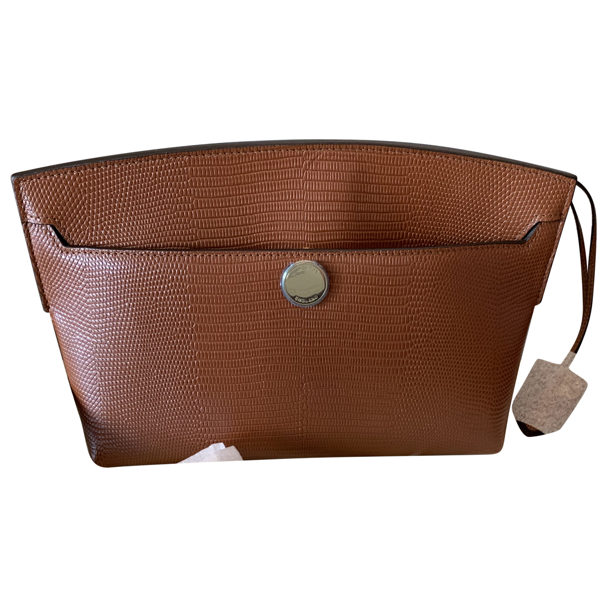 Burberry \N Brown Leather Clutch bag for Women \N