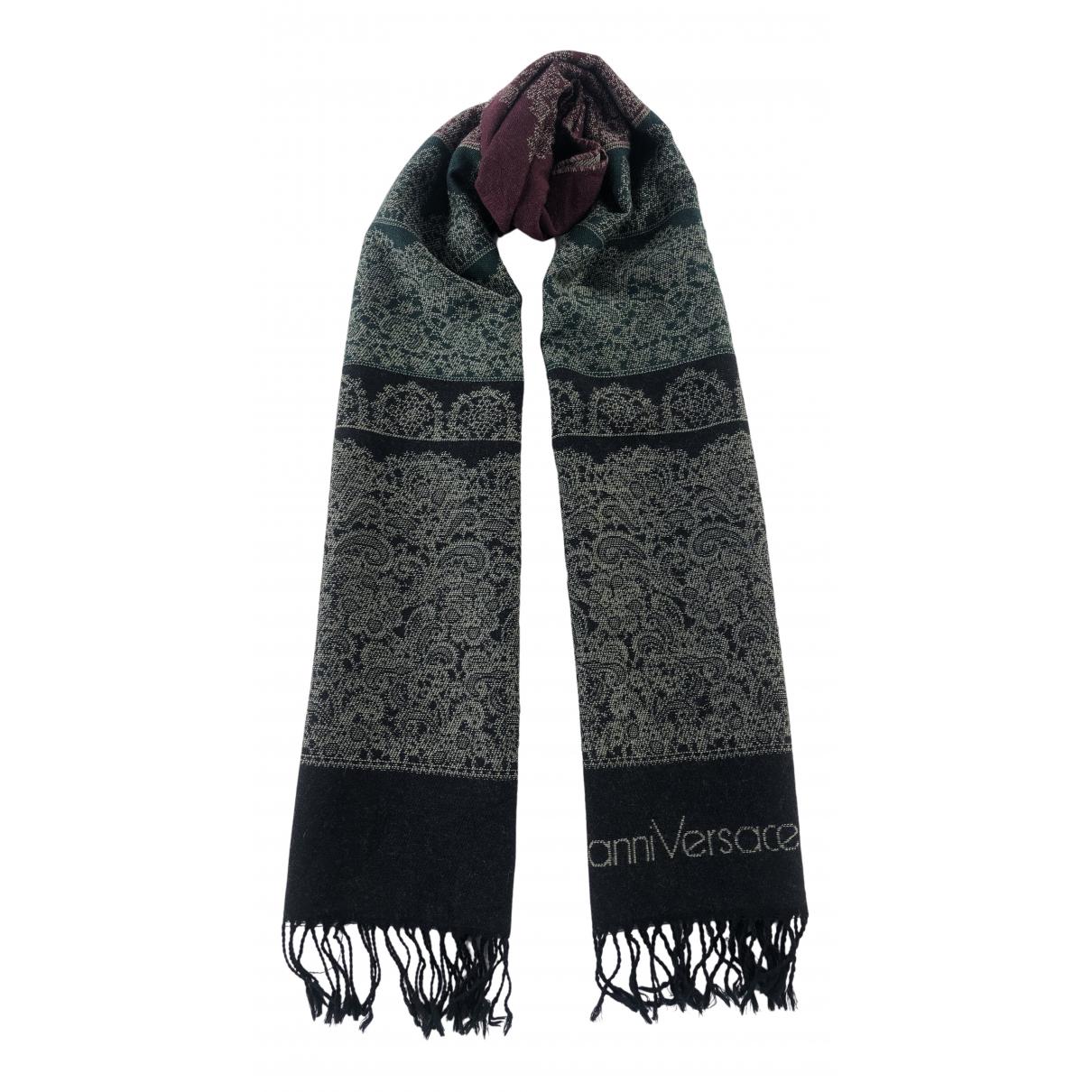 Gianni Versace - Foulard   pour femme en laine - multicolore