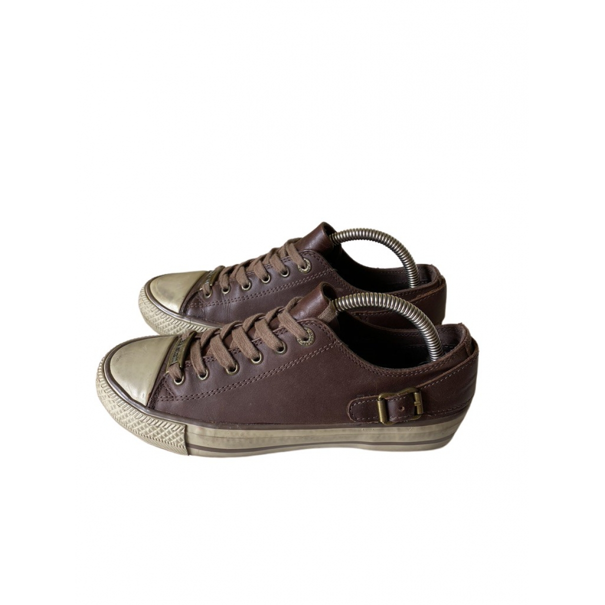 Belstaff \N Sneakers in  Braun Leder