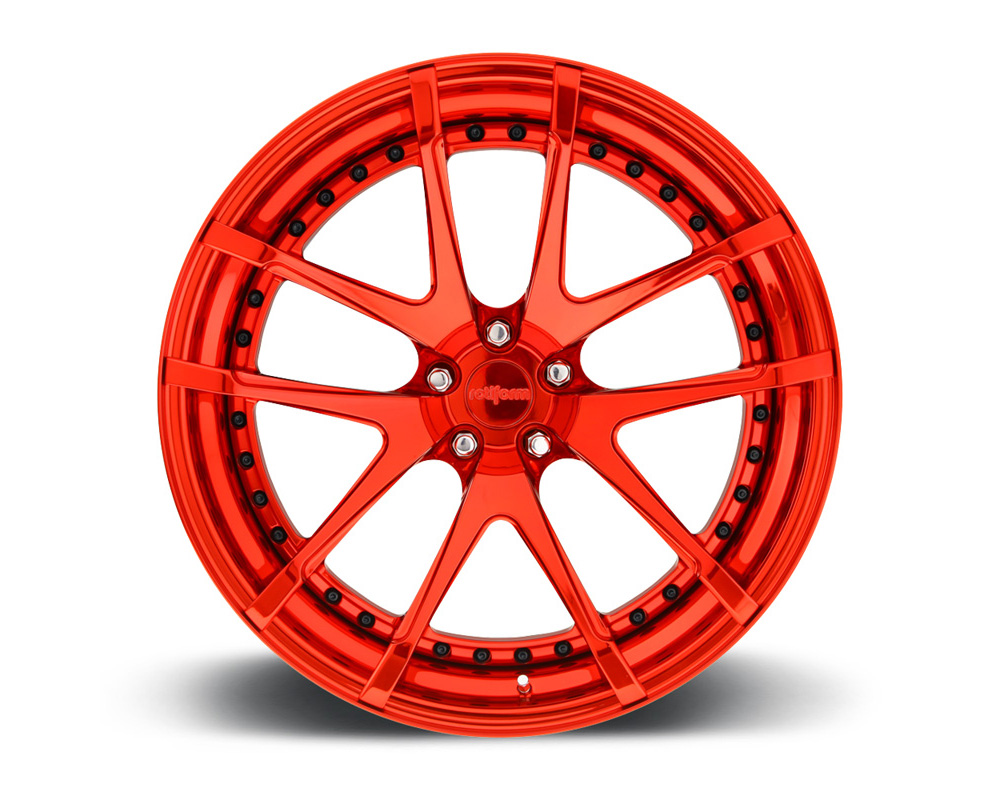 Rotiform SNA-3PCFORGED-FLAT SNA 3-Piece Forged Flat/Convex Center Wheels