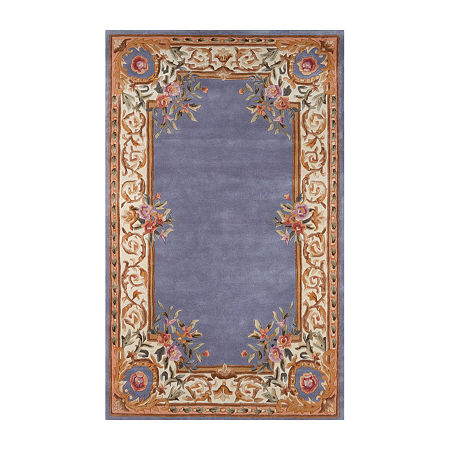 Momeni Open Fields Hand Tufted Rectangular Indoor Rugs, One Size , Blue