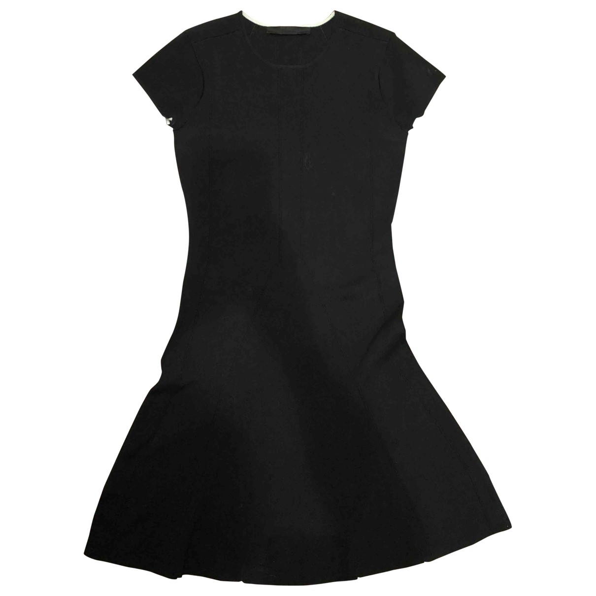 Karl \N Black Cotton - elasthane dress for Women S International