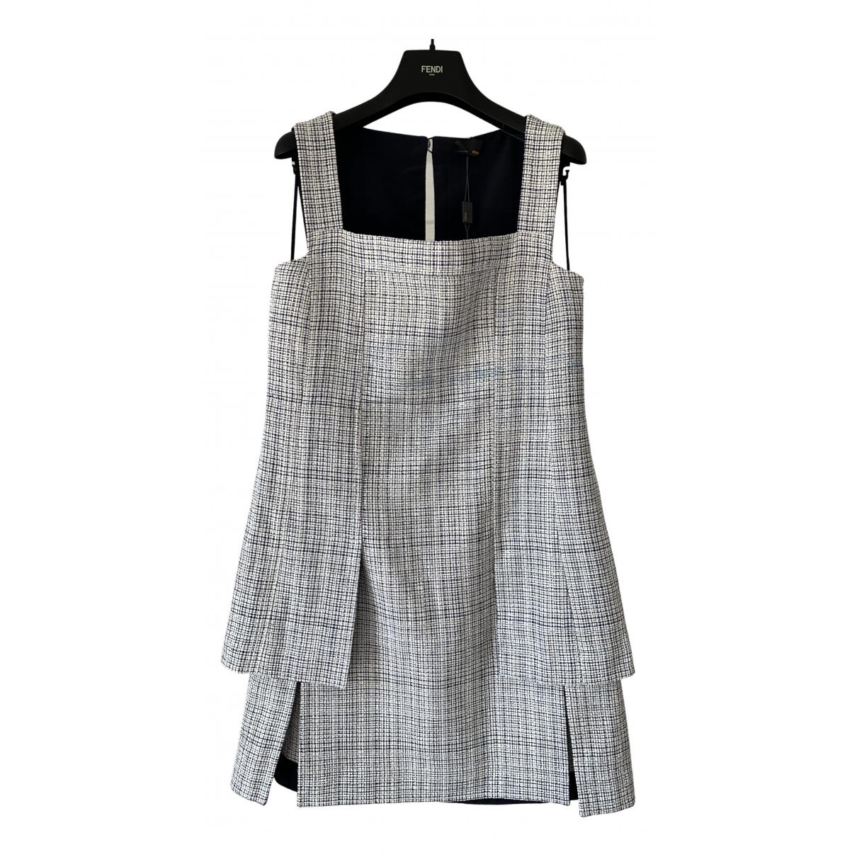 Fendi - Robe   pour femme en coton - multicolore