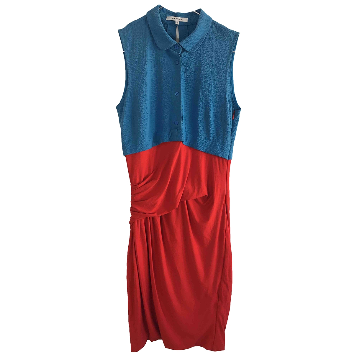 Carven \N Red dress for Women 38 FR