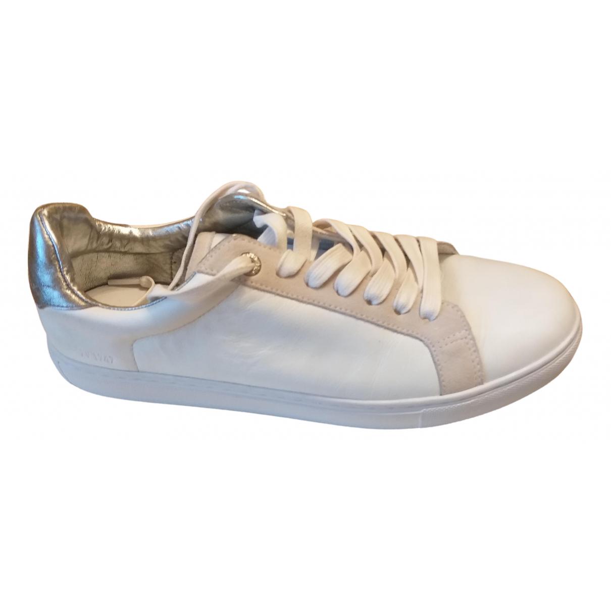 Zadig & Voltaire Spring Summer 2020 Sneakers in  Weiss Leder