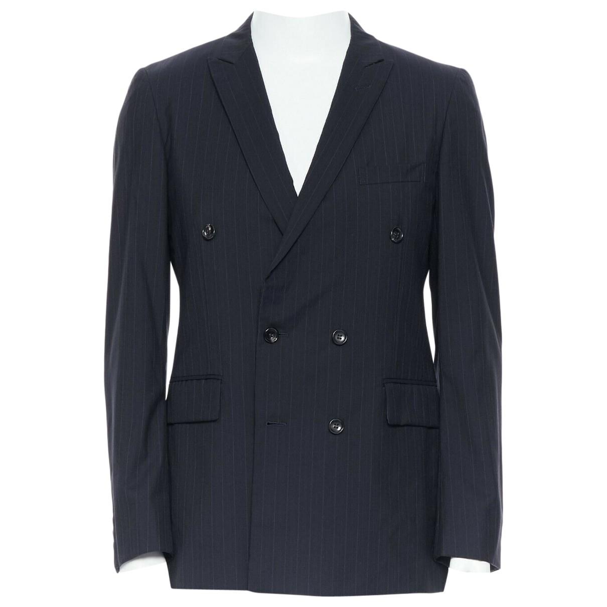 Comme Des Garcons \N Black Suede jacket  for Men M International