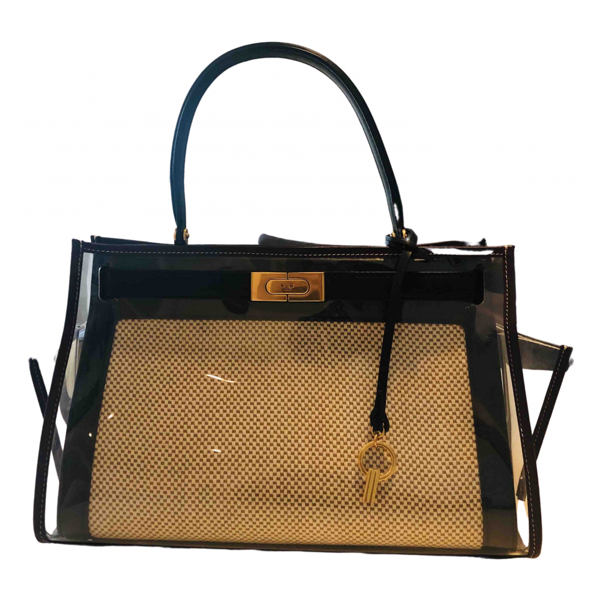Tory Burch \N Handtasche in  Beige Leder