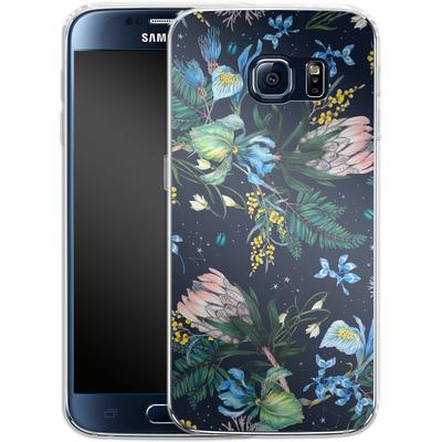 Samsung Galaxy S6 Silikon Handyhuelle - Celest von Stephanie Breeze
