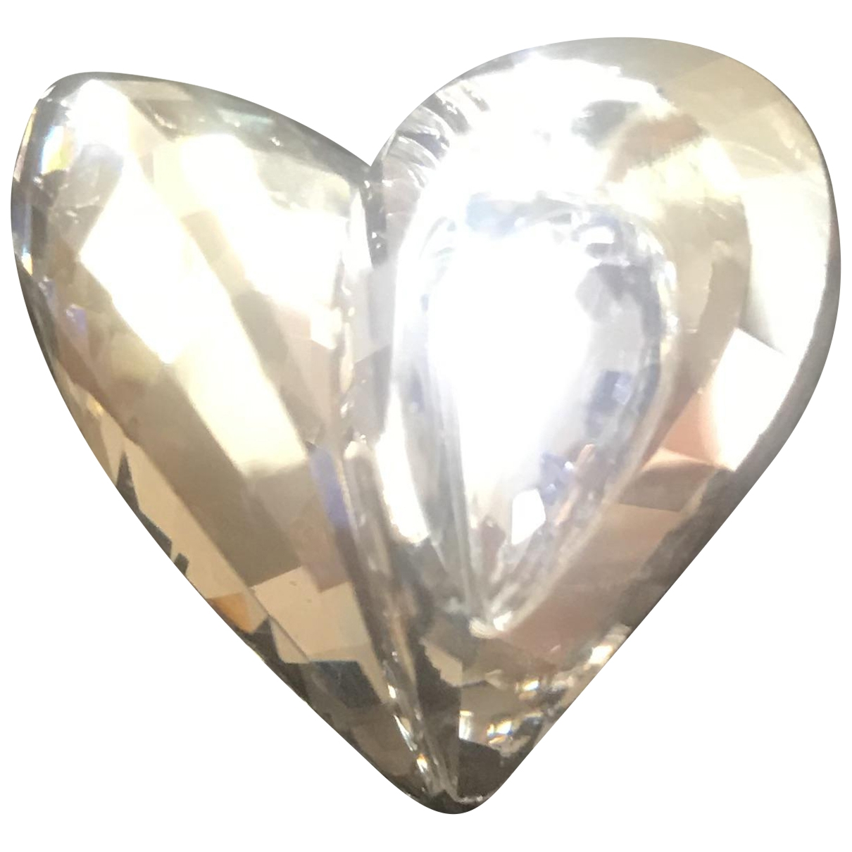Swarovski \N Ring in  Silber Kristall