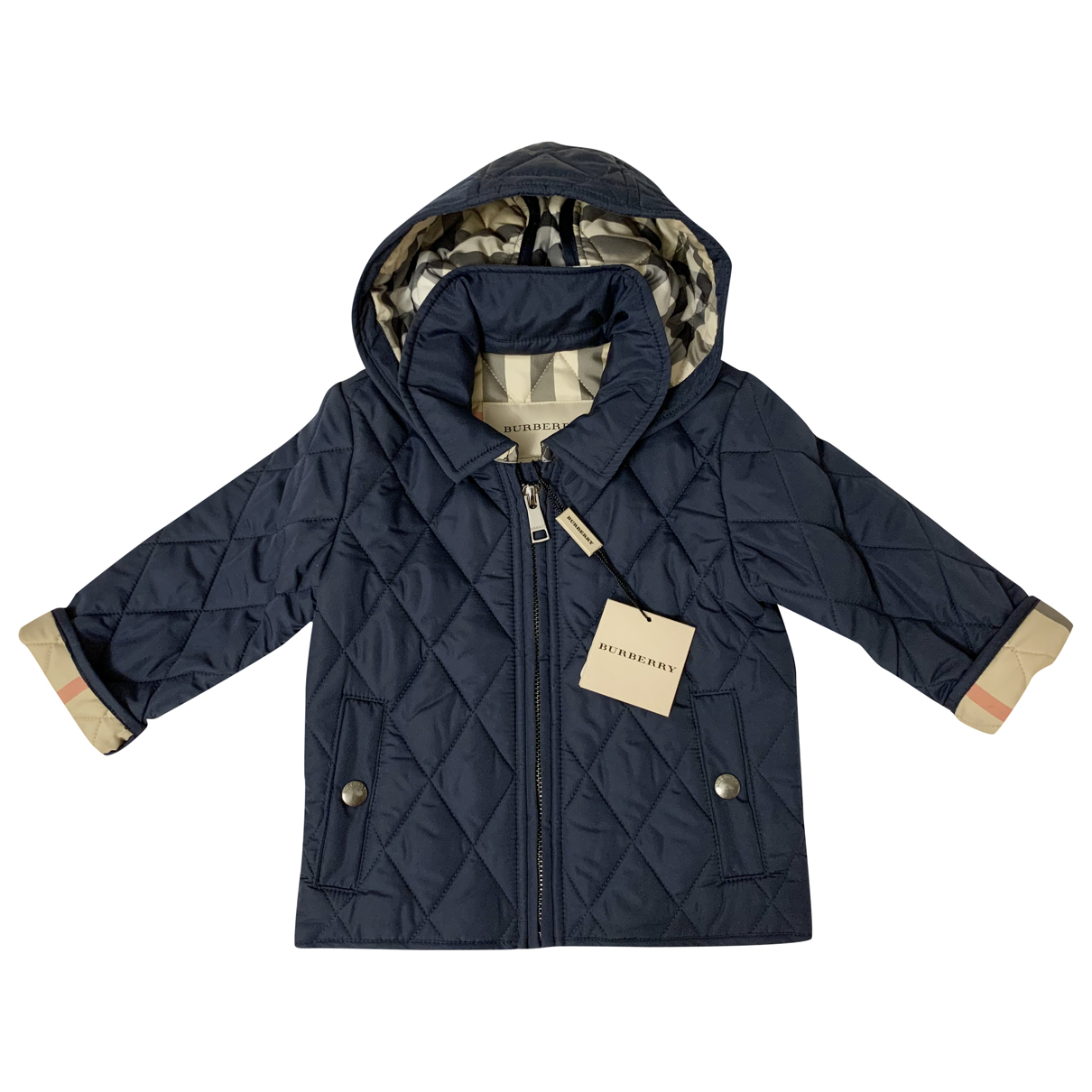 Burberry N Blue jacket & coat for Kids 6 months - until 26.5 inches UK