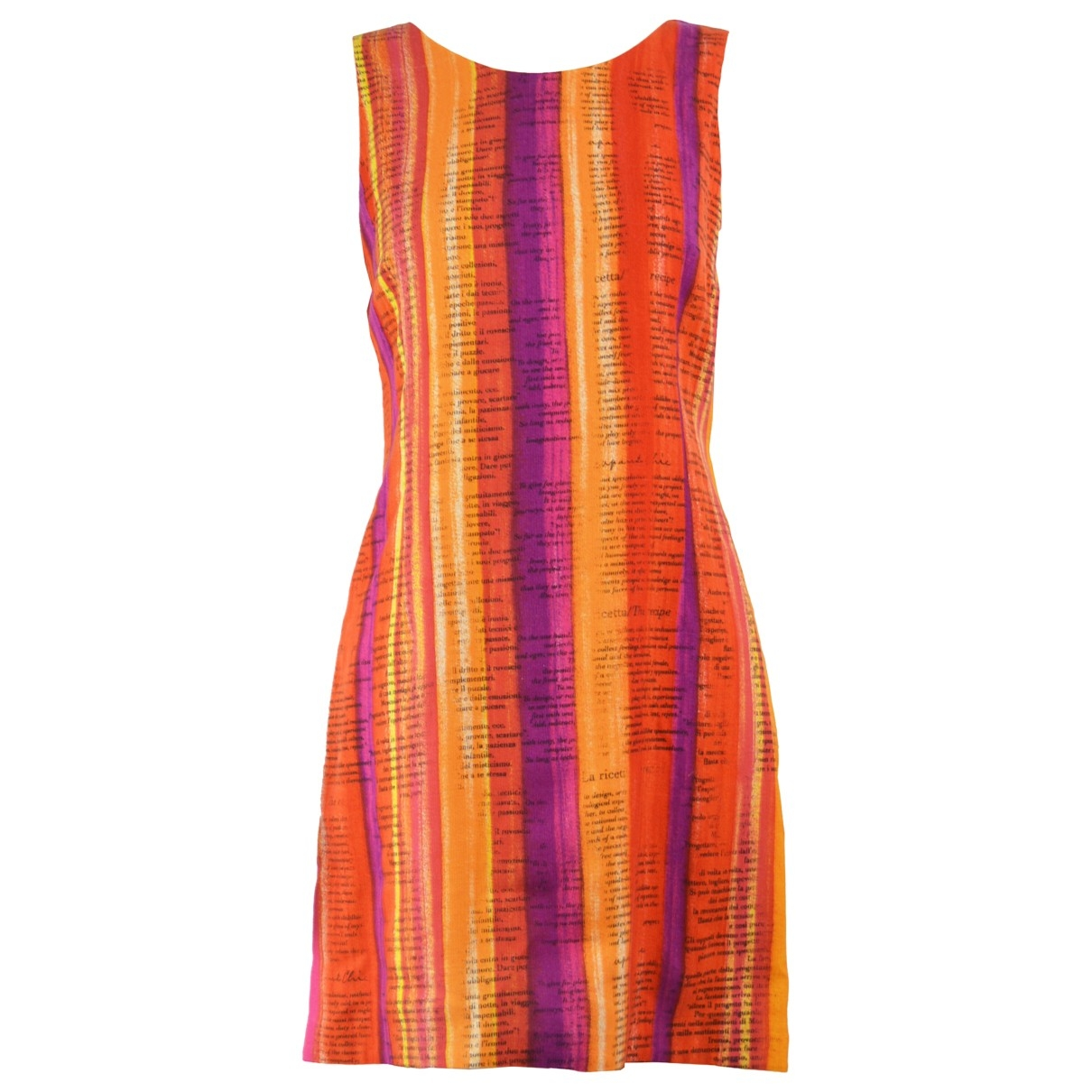 Moschino Cheap And Chic \N Kleid in  Bunt Viskose