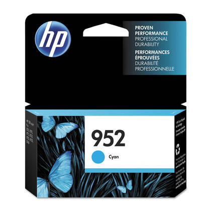 HP 952 L0S49AN Original Cyan Ink Cartridge