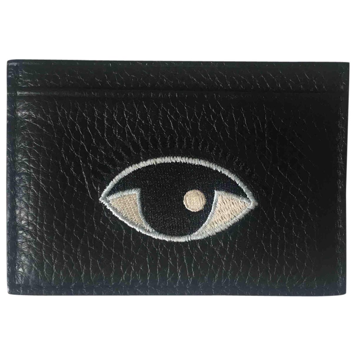 Kenzo \N Black Leather Purses, wallet & cases for Women \N