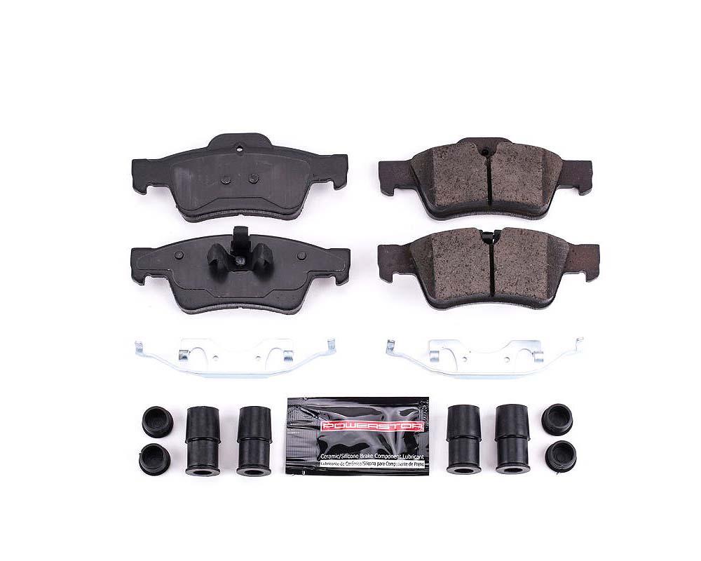 Power Stop Z23-1122 Z23 Evolution Sport Brake Pads w/Hardware Rear Mercedes-Benz G55 AMG 2011