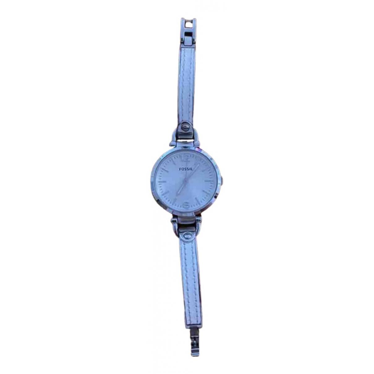 Fossil \N White Steel watch for Women \N