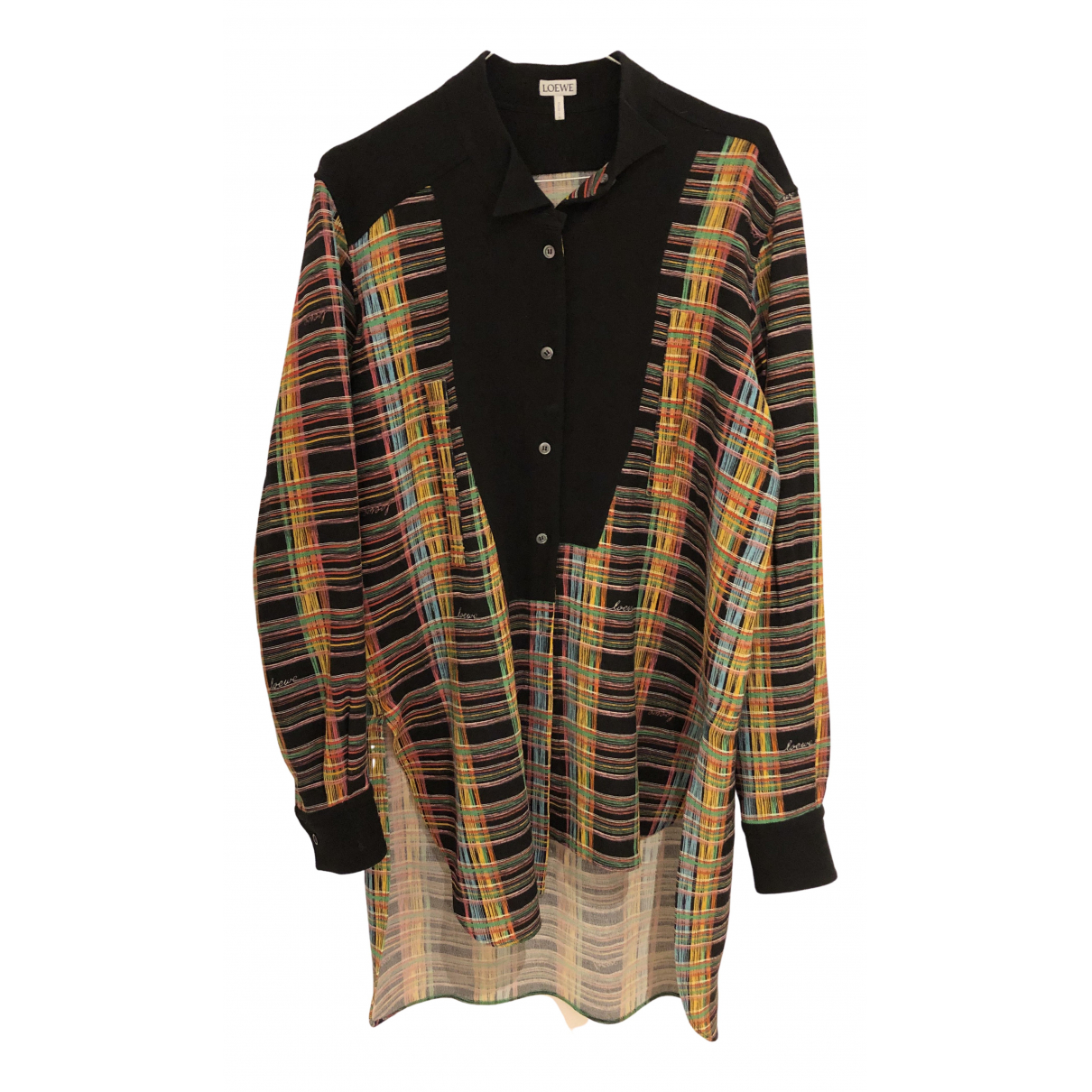Loewe - Top   pour femme en laine - noir