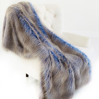 Azure Jean Collection PBSF1508-102x116 102L x 116W California King Plush Handmade Luxury Faux Fur
