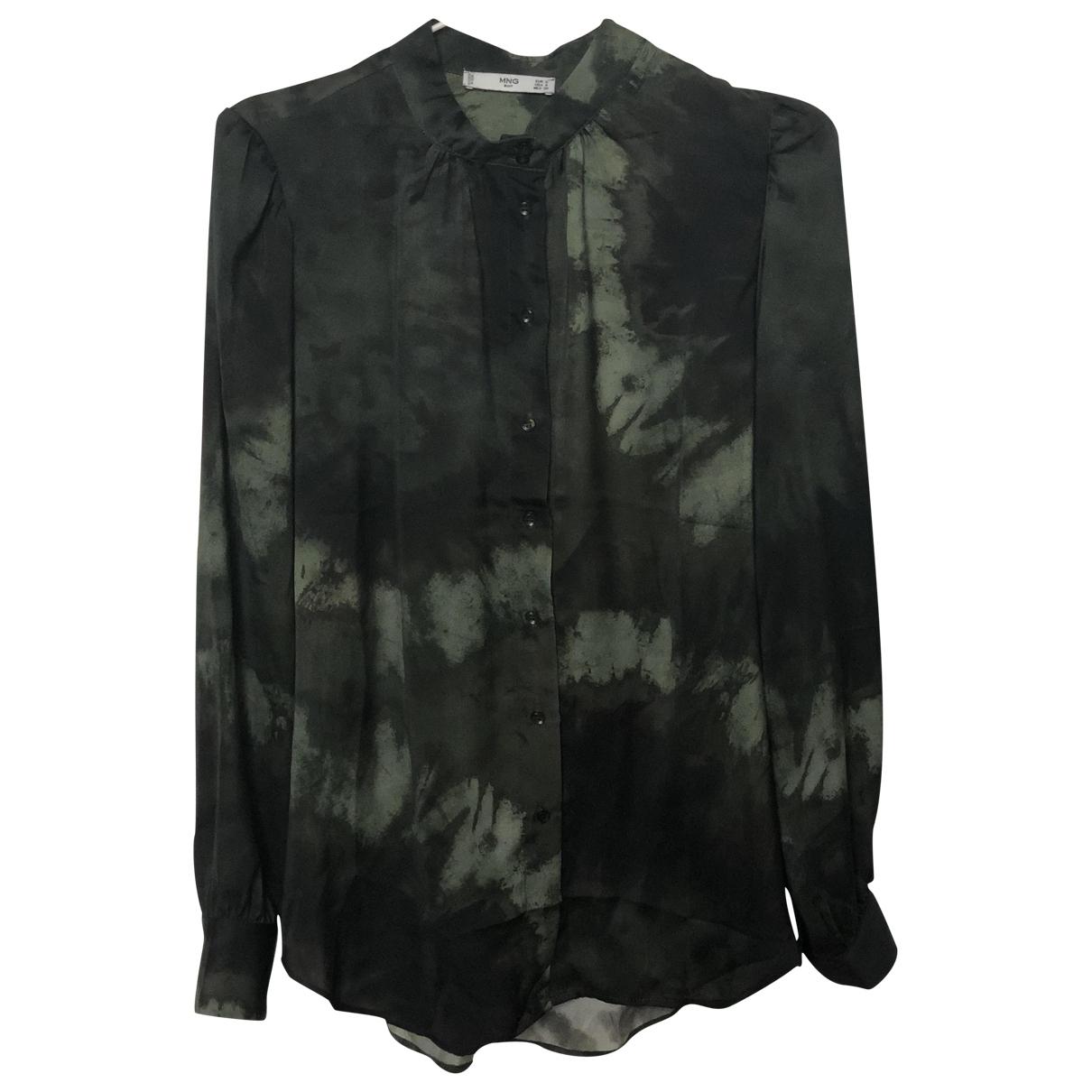 Mango \N Top in  Gruen Polyester