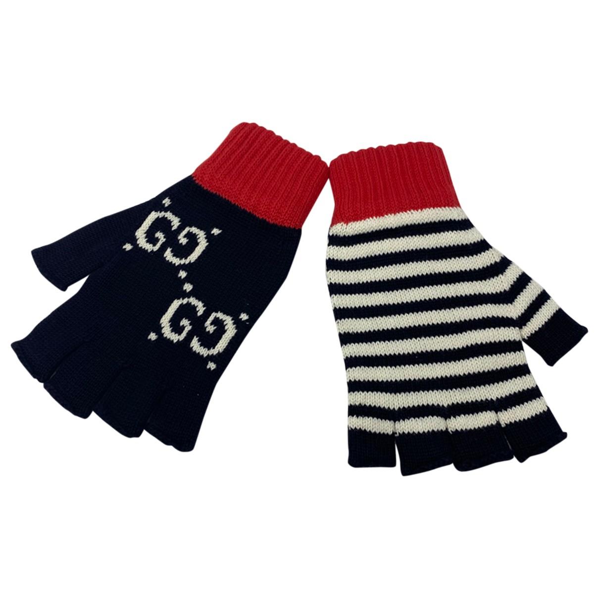 Gucci N Multicolour Wool Gloves for Women L International