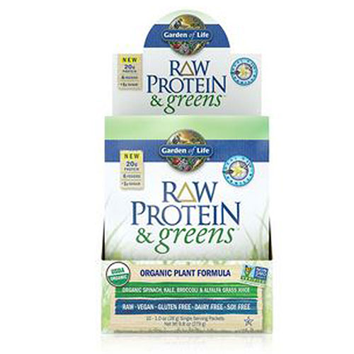Raw Protein and Greens Vanilla 1 Tray by Garden of Life